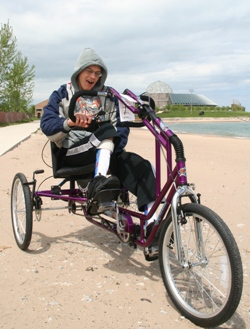 Teen on an Adaptive Cycle