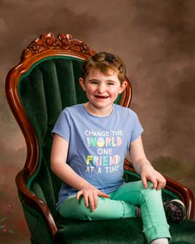 Child with Angelman Syndrome